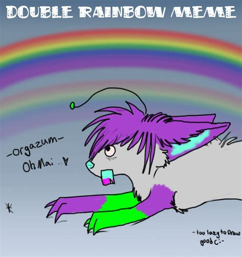Double Rainbow Meme - double rainbow meme xd by wolfen107 on deviantart