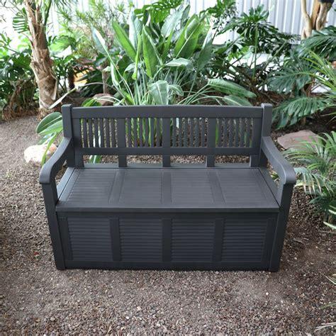 Gartenbank Mit Auflagenbox