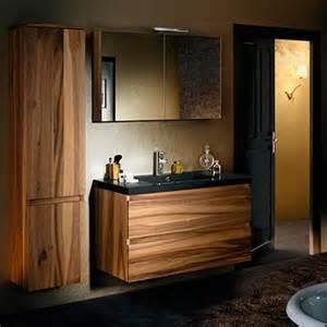 meuble sanijura salle de bain meubles salle de bains bois sanijura sobro espace aubade