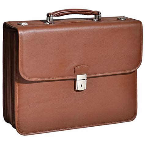 Office Depot Laptop Bags by Mcklein Ashburn Leather Briefcase Brown By Office Depot