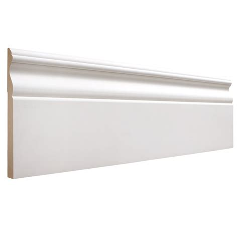 Kitchen Molding Ideas by 19 32 In X 5 1 4 In X 12 Ft Primed Mdf Base Moulding
