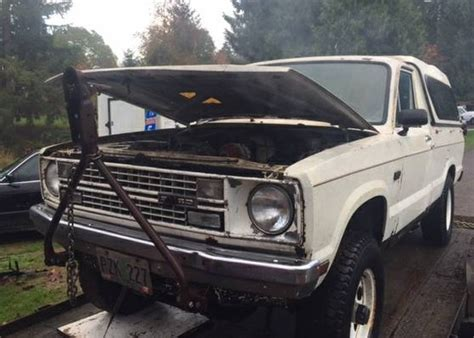 brahma conversion  ford courier