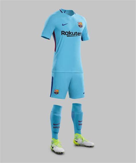 Jersey Real Madrid Away Musim 2017 2018 resmi barcelona luncurkan jersey away musim 2017 2018
