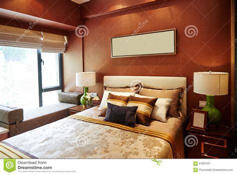 luxury home bedroom furniture decoration stock photo