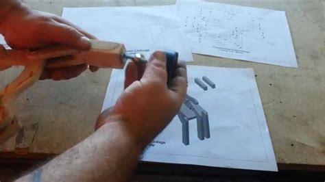 homemade pocket hole jig kreg jig  plans youtube