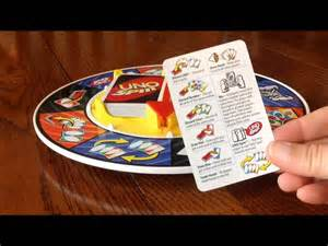 How To Make Uno Cards - uno spin card game basics youtube