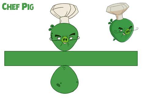 chef pig toons template bluejay5678 deviantart