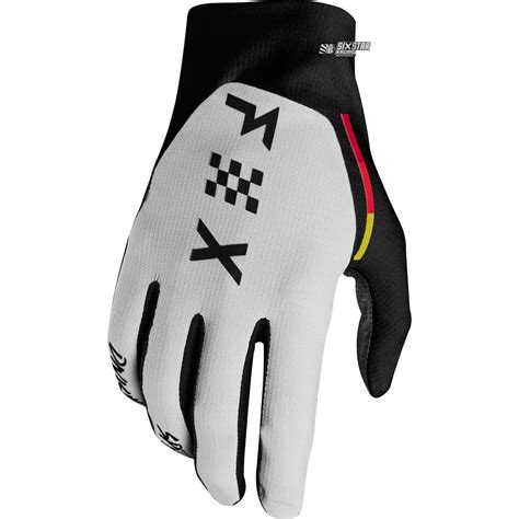Glove Fox fox racing flexair rodka limited edition gloves light grey