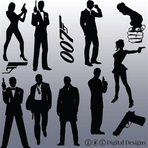 bond martini silhouette best 25 silhouette images ideas on the image