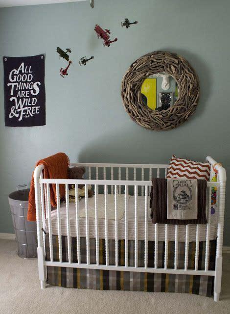 Plaid crib skirt for boys room so cute baby room ideas pinterest