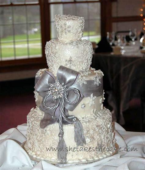 Silver Wedding Cake by Stylish Silver Wedding Cake Designs