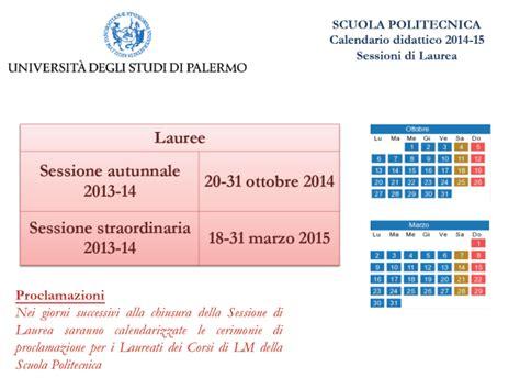 Calendario Didattico Unipa Ingegneria Universit 224 Degli Studi Di Palermo