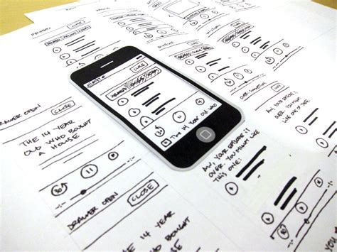 make a blueprint rapid prototyping for web design
