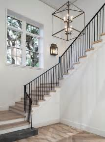 White Wrought Iron Crystal Chandelier Iron And Concrete Staircase Design Ideas