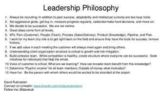 Leadership Philosophy Essay by Leadership Philosophy
