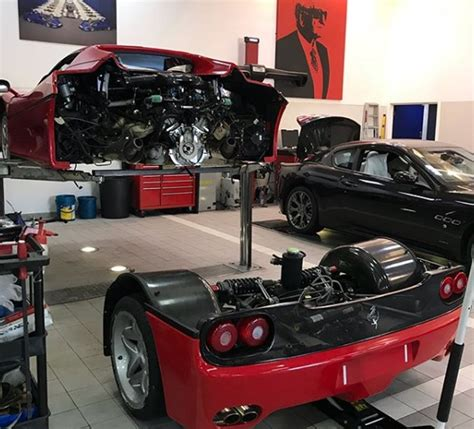 How Much Is A Ferrari F50 by Changing The Clutch On A Ferrari F50 Is Not Easy Drivetribe