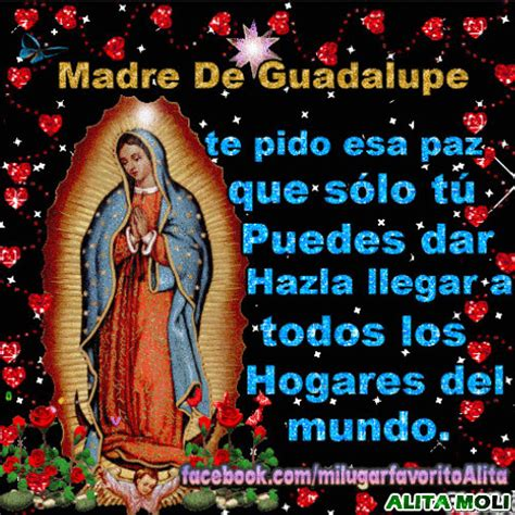 imagenes de la virgen de guadalupe con bendiciones imagenes gif con oraciones a la virgen de guadalupe