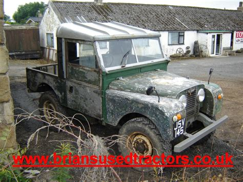 land rover series 1 for sale brian s used tractors used tractors tractors for sale