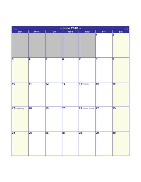 2018 Us Calendar 2018 Us Calendar Free