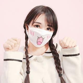 Masker Kawaii kawaii emoticons masks sd00139