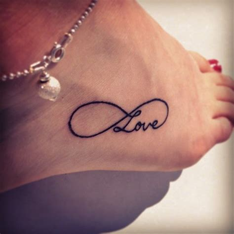 infinity tattoo locations infinity love tattoo on ankle country girl in the city