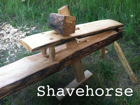 shaving horse bench shaving horse diy timber frame