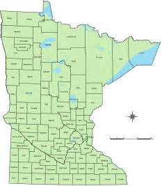 What County Is Mn In Counties Of Minnesota Map Mapsof Net