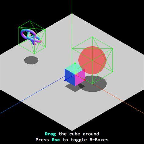 bounding volume collision detection  threejs