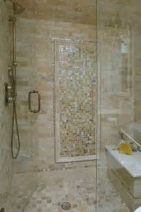 Bathroom Shower Designs Pictures Limestone And Glass Tile Bathroom Traditional Bathroom