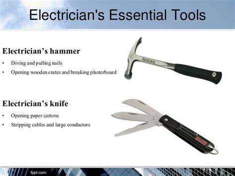 electrician knife uses electricians tools for completing