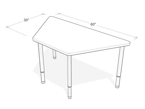 classroom layout with trapezoid tables pics for gt classroom trapezoid table