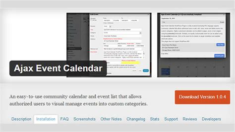 top ajax event calendar wordpress plugins wp