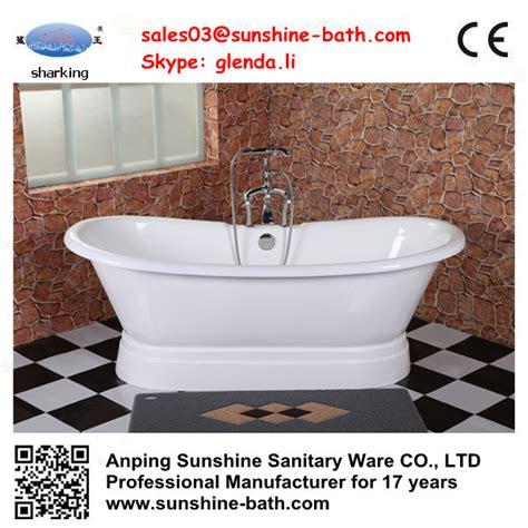 enamel bathtubs hot freestanding enamel bath pedestal porcelain bathtub