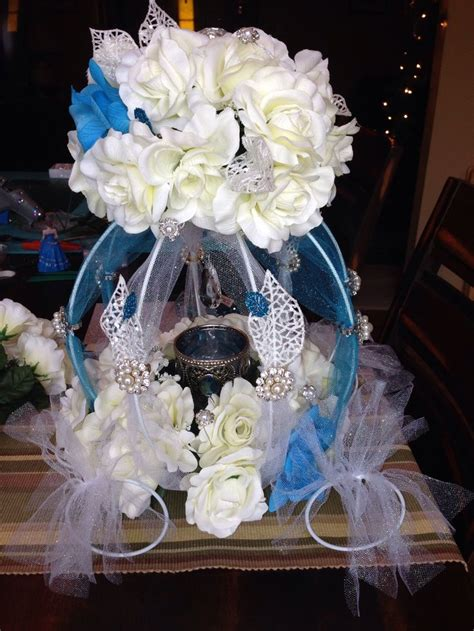 table for quinceanera cinderella quince table centerpiece my quincea 241 era