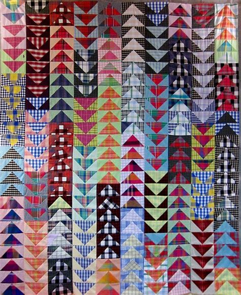 Flying Geese Quilts by Quot Flying Plaids Quot At Nifty Quilts Flying Geese Quilts