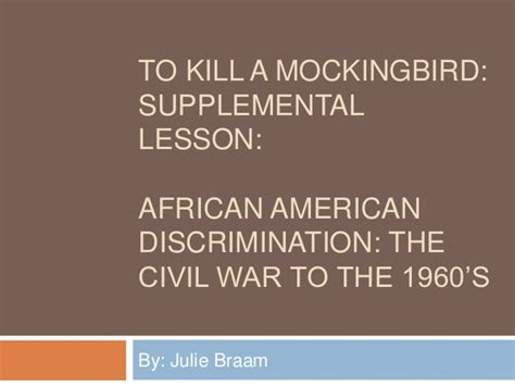 themes in to kill a mockingbird powerpoint to kill a mockingbird powerpoint