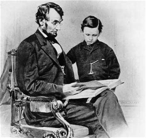 how many child did abraham lincoln lincoln abraham lincoln with his tad