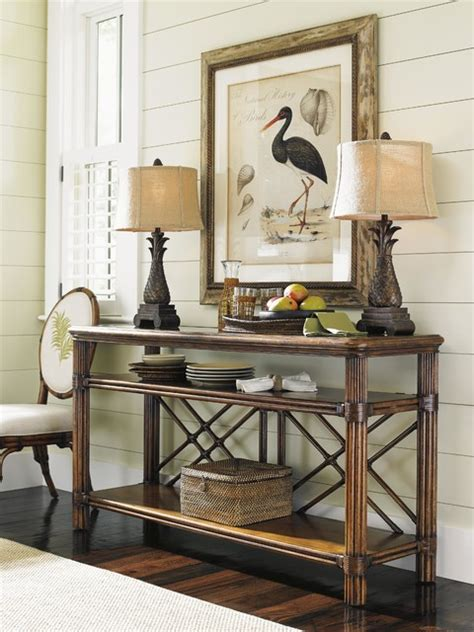 bahama living room bahama home bali hai islander console tropical living room miami by baer s furniture