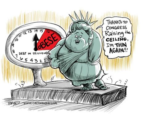 debt ceiling political cartoons congress to raise debt ceiling and concern cartoon cartoon