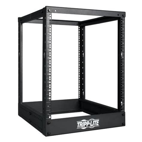 tripp lite sr4post13 13u 4 post smartrack open frame rack