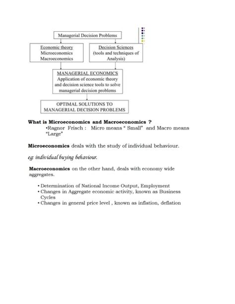 Managerial Economics For Mba Students by Managerial Economics Introduction For Mba