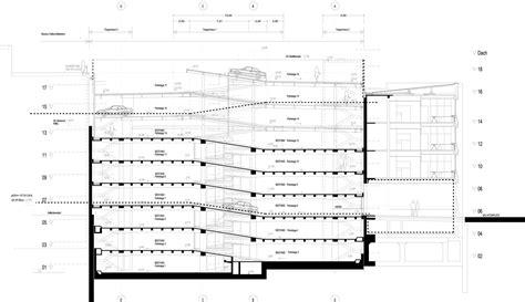 basement parking section gallery of salvartor car park peter haimerel architektur