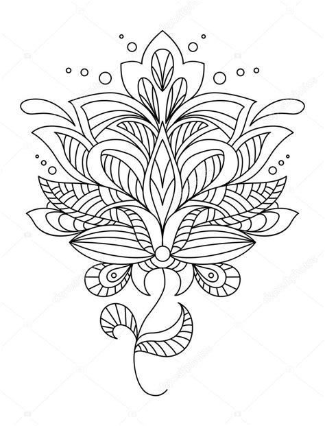intricate floral coloring pages free intricate flowers coloring pages