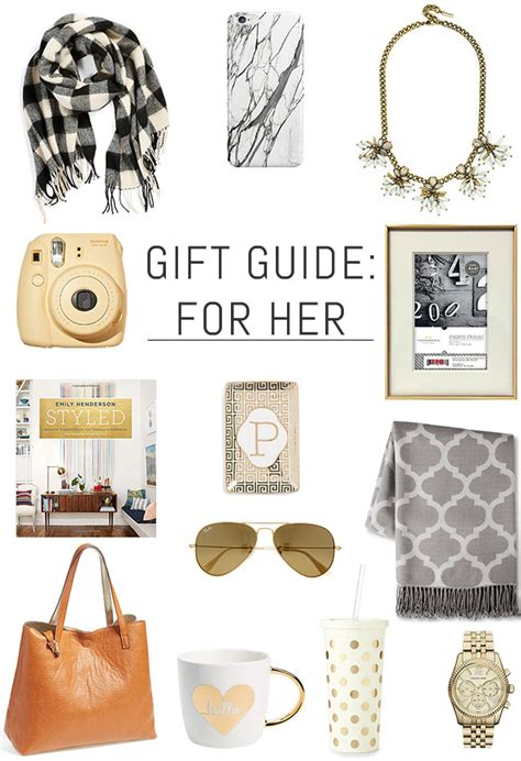 affordable holiday gift guide for her just a trace his hers holiday gift guide erin spain