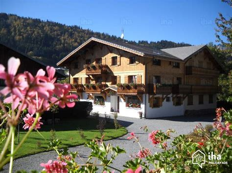 morzine appartments apartment flat for rent in a chalet in morzine iha 52713