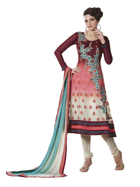 unstitched salwar suits online unstitched anarkali ethnic suit emudr8002bswgt cilory com
