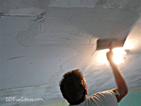 How To Repair A Hole In Your Ceiling Drywall How To Fix A In Ceiling
