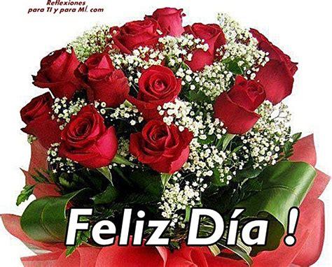 bellas flores amarillas y rojas mandarsaludoscom imagenes de flores feliz d 237 a para regalar en una fecha