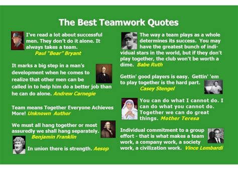 17 best inspirational teamwork quotes sports quotes for team work quotesgram