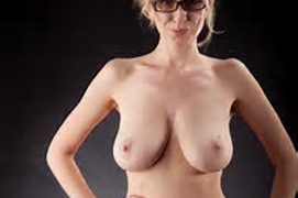 Sexy Nude Blonde Teachers With Glasses